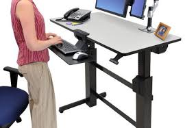 Standing Desk Ergotron Sit To Walkstation Treadmill Desk Sit Stand Or Walk The Intended