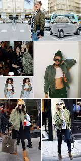 winter biker jacket beavant winter army green bomber jacket women coat pilot basic