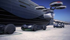 futuristic flying cars this freakily futuristic airbus drone car hybrid can literally fly