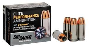 The Armories Winter Garden - the armories sig sauer elite v crown 9mm 124gr jacketed hollow
