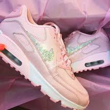 light pink nike air max crystal nike air max 90 s in baby pink crystal candy limited