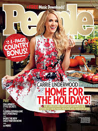 carrie underwood reveals her christmas traditions