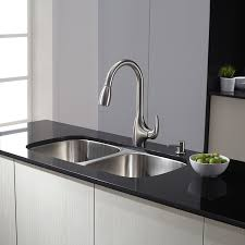 Kitchen Faucet Head by Kraus Kpf 2170 Single Lever Stainless Steel Pull Out Kitchen