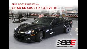 billy boat exhaust c6 corvette billy boat exhaust on chad knaus s personal c6 corvette