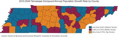 Map Of Tennessee State by Tennessee State Data Center The University Of Tennessee Knoxville