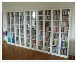 tall bookcase with glass doors top 15 of bookcases with glass doors