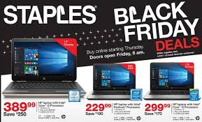 black friday amazon image staples black friday ad leaks with cheap windows laptops amazon