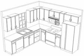 Kitchen Cabinet Drawings Kitchen Cabinet Layout Ideas Pleasant Idea 12 Best 20 Layout Plans
