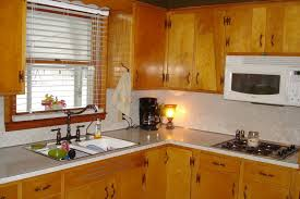Ideas To Update Kitchen Cabinets Cheap Kitchen Update Ideas Updating Cabinets Before And After