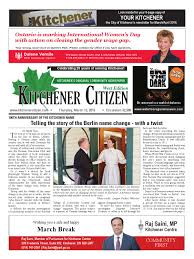 kitchener citizen west edition march 2016 by kitchener citizen