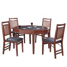 hathaway broadway 48 in folding poker table and chairs set bg2355