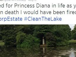 princess diana gravesite princess diana s former chef slams grave neglect scandal