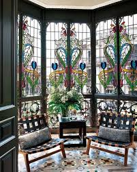Outdoor Glass Room - 25 stained glass ideas for indoor and outdoor home decor digsdigs