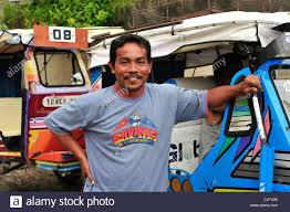 philippine tricycle design pedicab motor tricycle taxi driver moalboal cebu province
