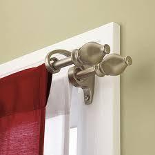 double curtain rod a blog site for double curtain rod