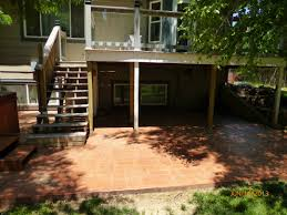 colored stamped concrete patio opp concrete wichita commercial