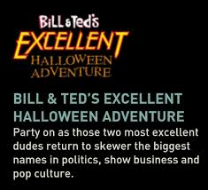 halloween horror nights premier pass bill and ted u0027s excellent halloween adventure show zuo special