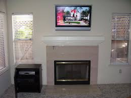 decoration decorate living room with mounting a tv over a