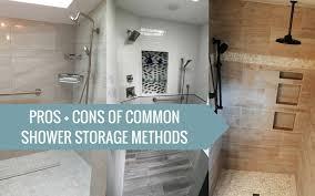 Bathroom Shower Storage Shower Storage Options Bath Portland Or Seattle Wa