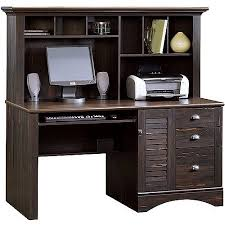 Walmart Desk With Hutch Sauder Harbor View Computer Desk With Hutch Antiqued Paint