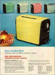 Colorful Toasters The Colorful 1950s Kitchen The Epitome Of Post War Optimism And