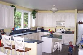 kitchen yellow kitchen wall colors pictures of kitchens with yellow walls white cabinets and blue