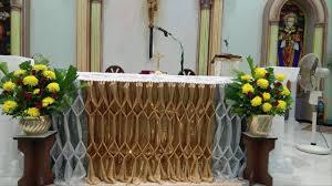 church altar decoration