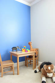 blue accent wall simple blue accent wall tutorial