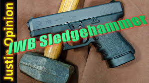 glock 30s the iwb sledgehammer youtube