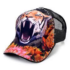 sense42 rhinestone tattoo special edition wild baseball cap mesh