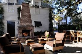 Outdoor Fireplace Patio Outdoor Gas Fireplace Patio Traditional With White Outdoor