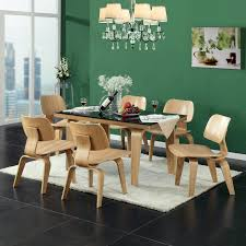 Eames Dining Chair Mlf Molded Plywood Lounge Chair