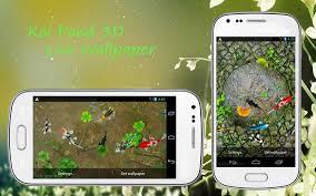koi free live wallpaper apk koi pond 3d live wallpaper apk free personalization app
