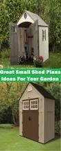 great small shed plans ideas for your garden craft