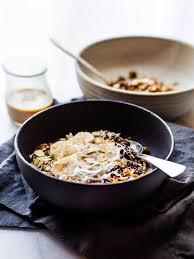 dirty chai detox breakfast bowls cotter crunch gluten free recipes