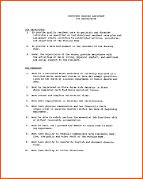 cna resume sle gallery of assistant sle resume resumes home health
