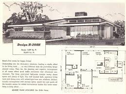 mid century modern house plan modern homes under 100k mid century ranch style house plans to build