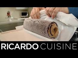 ricardo cuisine noel comment rouler un gâteau bûche de noël ricardo cuisine