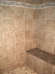 love our new tile and granite on the shower bench dream