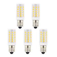 Led Versus Fluorescent Light Bulbs by Best 5w T3 E12 Candelabra Base Led Bulbs 40 Watt Incandescent Bulb