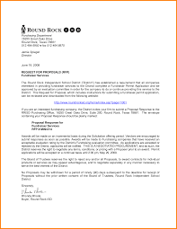 rfp cover letter template rfp cover letter request for rfp design and i