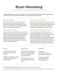 subtle creativity free resume template by hloom com interview