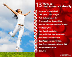 best medicine for inflammation 13 ways to heal anemia naturally drjockers com