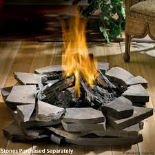 Firepit Logs Napoleon Patioflame Outdoor Gas Pit With Logs