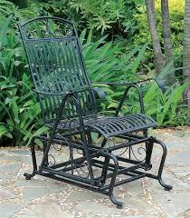 Wrought Iron Patio Furniture Vintage Wrought Iron Glider Patio Chairs Vintage Patio Design Ideas 1499
