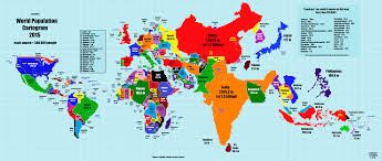 Map Scales Dataviz As Maps World Population Cartogram Michael Sandberg U0027s