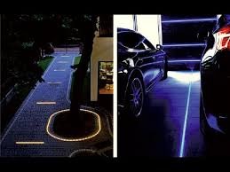 diy how to use the led lights for driveways and patios cobblestone