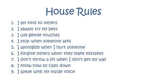Family House Rules House Rules To Love Honor And Disobey Grounded Parents