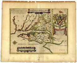 Maryland Virginia Map by Early Settlers Charts And Maps