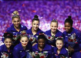 gymnasts u0027 hairstyles at the 2016 olympics look like they u0027re from